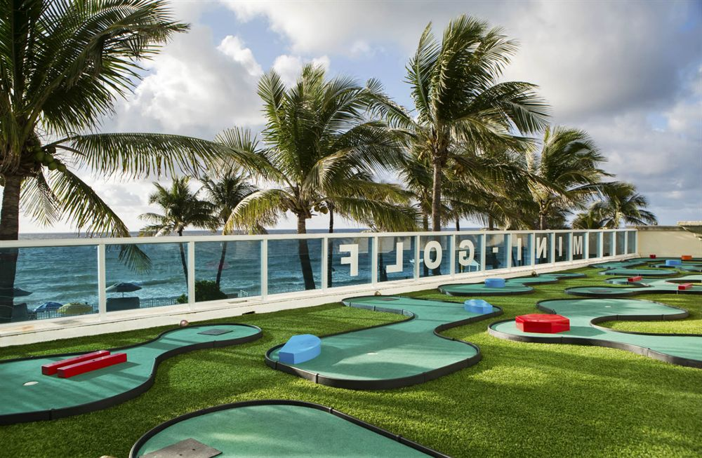Ocean Sky Hotel-  Miniature Golf Course