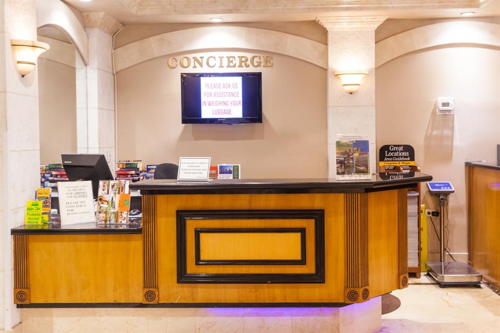 Ocean Sky Hotel-Concierge Desk