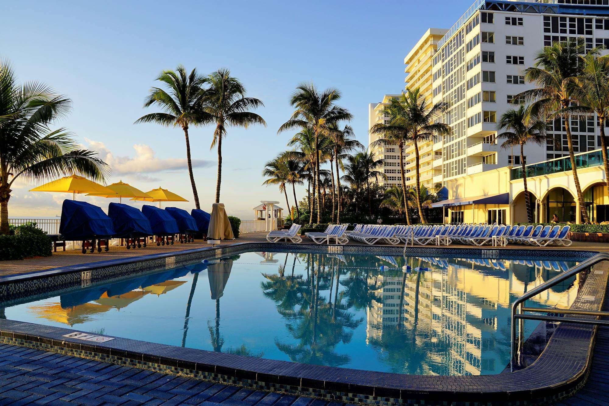 Ocean Sky Hotel-  Pool Deck