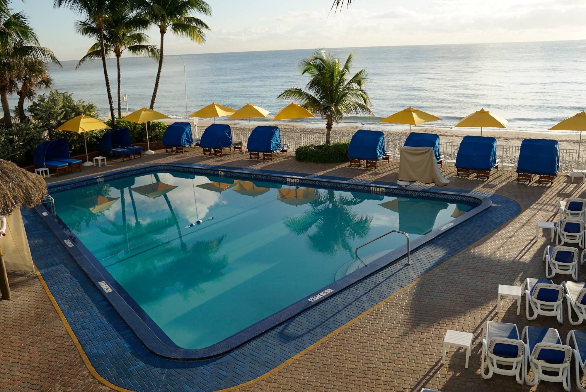 Ocean Sky Hotel-Pool Deck
