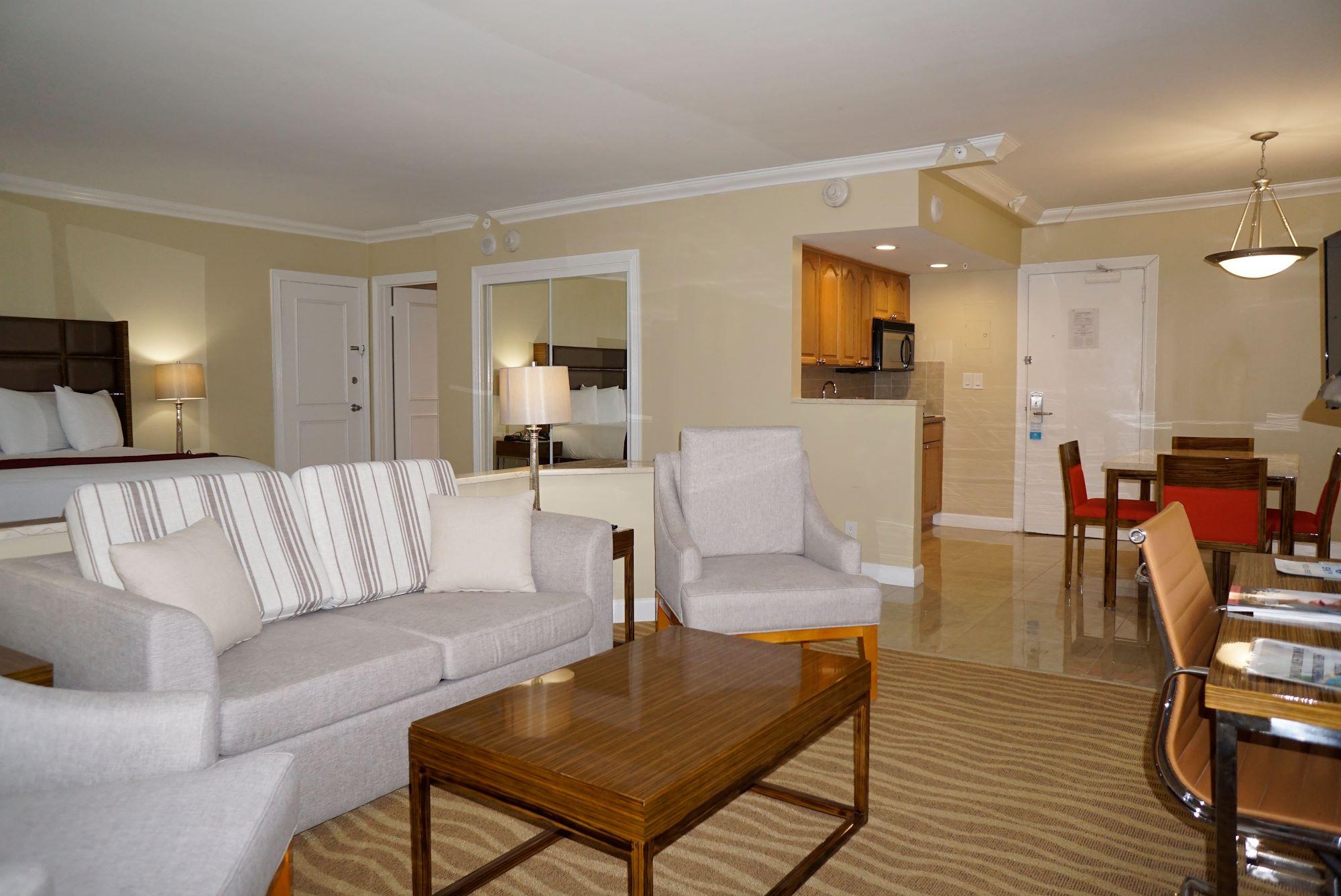Ocean Sky Hotel- Suite Parlor Kitchenette