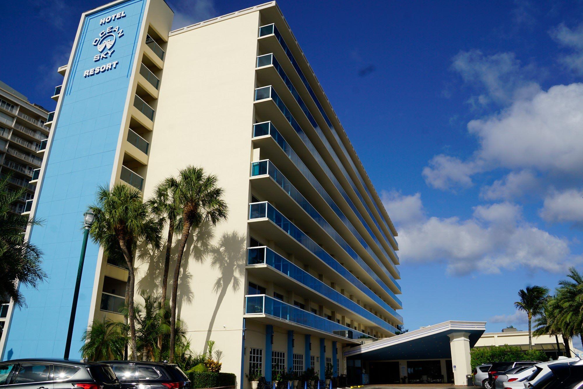 Ocean Sky Hotel-Exterior